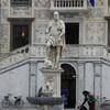 Пиза, статуя Козимо Первого на площади Рыцарей,экскурсии по Флоренции и Тоскане с частным индивидуальным гидом на русском языке