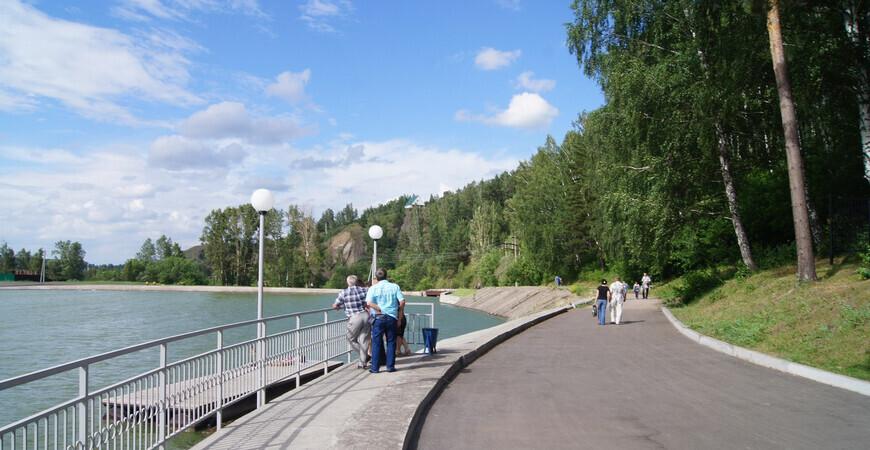 Зенковский парк в Прокопьевске