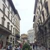 Флоренция, вид на Баптистерий с улицы Мартелли, экскурсии по Флоренции с частным индивидуальным гидом на русском языке