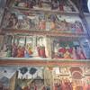 Санта мария новелла, главный цикл фресок в центральной капелле, художник Доменико дель Гирландайо, экскурсии по Флоренции с частным индивидуальным гидом на русском языке