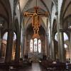 Базилика Санта Мария Новелла, распятие Джотто, конец 13 века,  экскурсии по Флоренции с частным индивидуальным гидом на русском языке