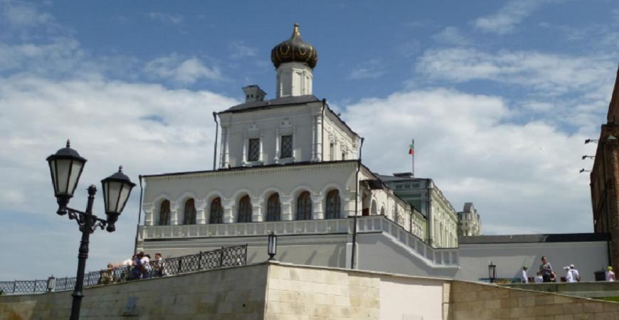 Дворцовая церковь в Казани