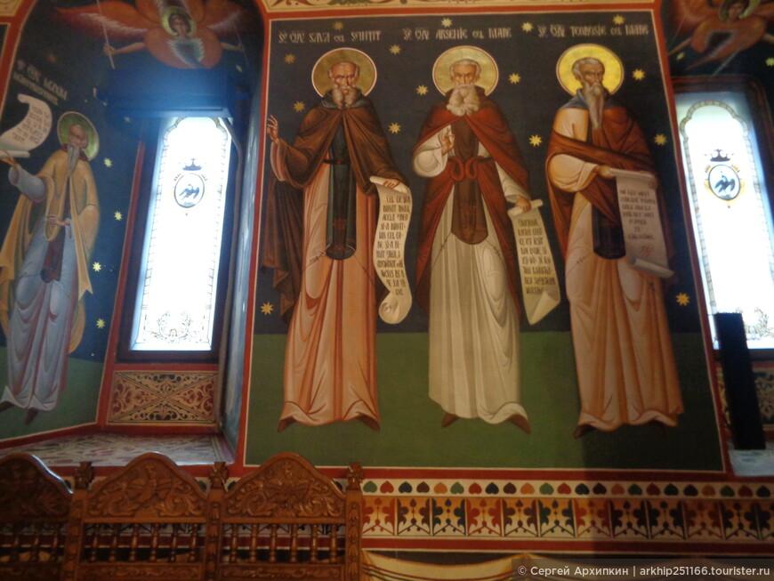 Фрески внутри собора