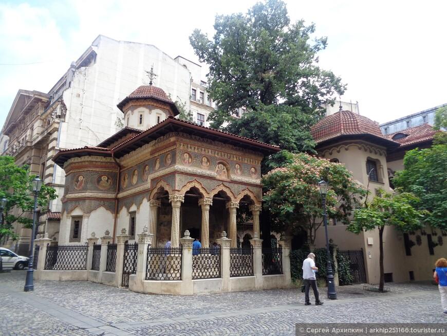 Православная церковь Ставрополис - построена в 1724 году