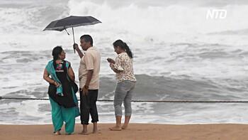 Туристов в Индии предупреждают о приближающемся циклоне