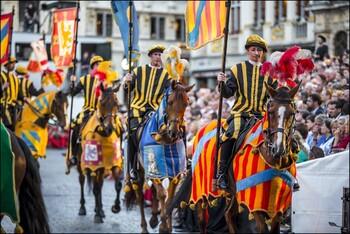 В Брюсселе проведут исторический праздник «Оммеганг»