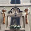 Сиена, табернакль контрады с девой Марией,экскурсии по Флоренции и Тоскане с частным индивидуальным гидом на русском языке
