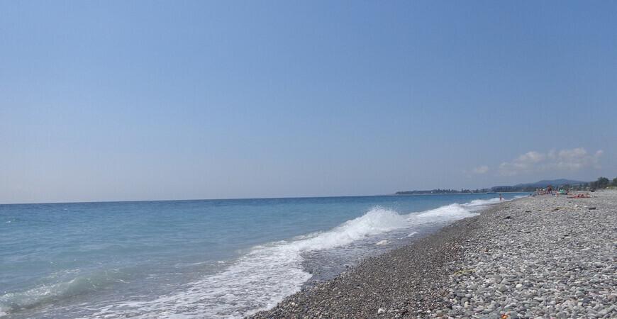 Центральный пляж в Цандрипше