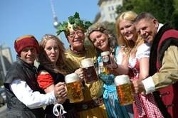 В Берлине пройдёт грандиозный пивной фестиваль