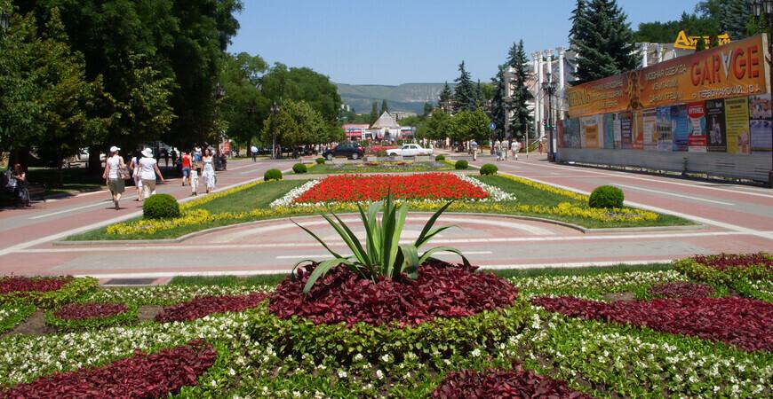 Курортный бульвар в Кисловодске