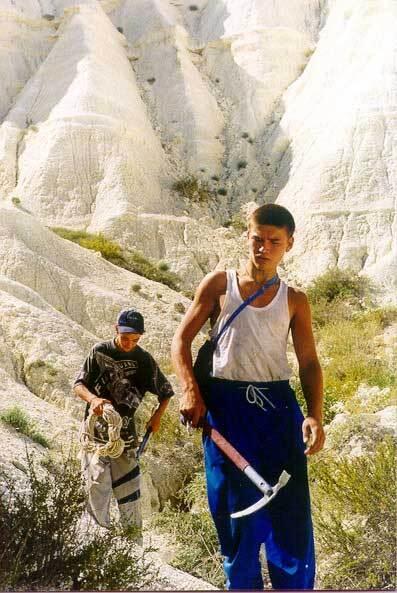 Меловые плато Прикаспия. ч.1. Актолагай