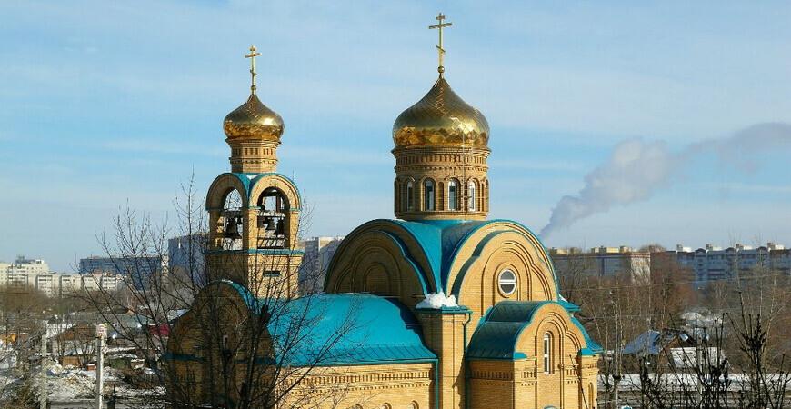 Храм Сергия Радонежского в Казани