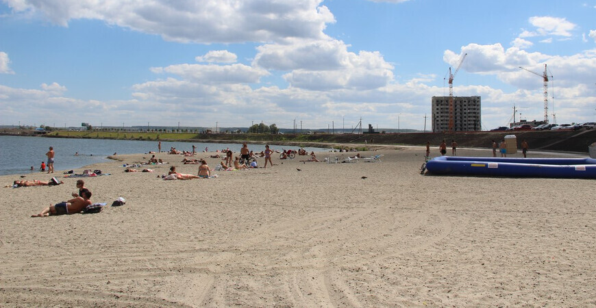 Пляж микрорайона «Спутник» в Пензе