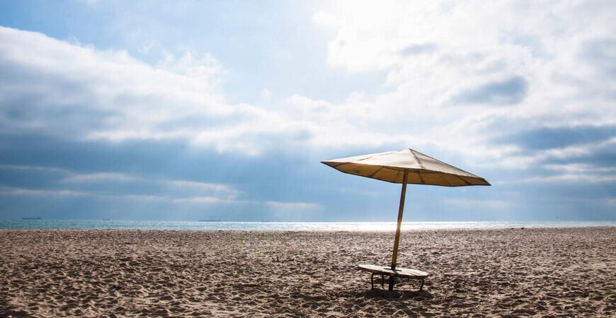 Пляж Черноморска-Ильичевска