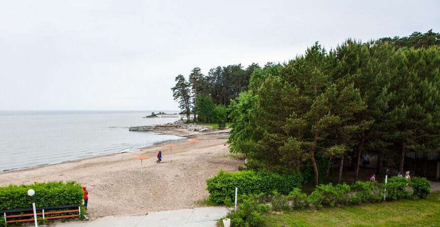 Пляж Бумеранг в Новосибирске