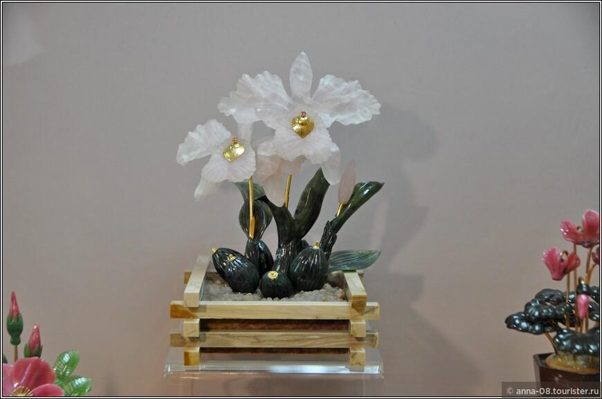 «Орхидея Каттлея Мосле Хок»