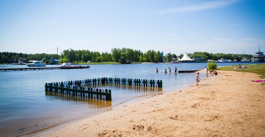 Пляж «Троицкое» на Клязьминском водохранилище