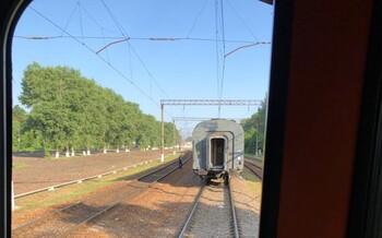 У пассажирского поезда Брянск — Москва на ходу отцепился вагон