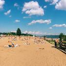 Городской пляж в Перми