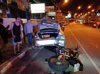 В Паттайе российскую туристку насмерть сбил мотоциклист