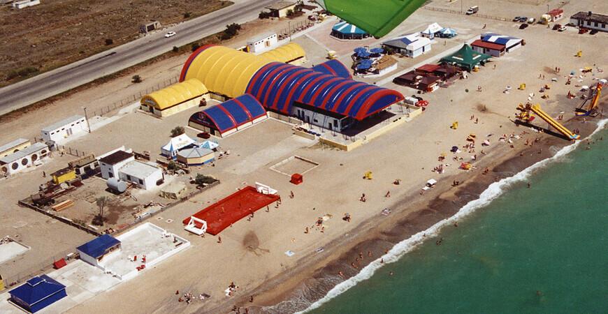 Пляж «Солнышко» в Евпатории