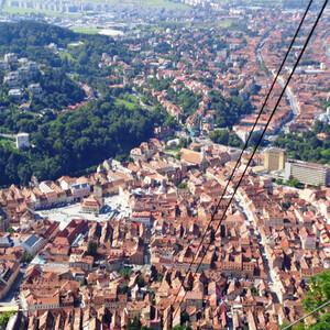 В центре Трансильвании — средневековый Брашов