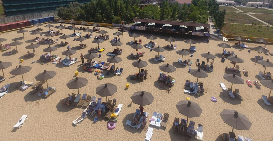 Пляж «Джами» в Махачкале