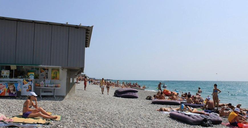 Пляж санатория «Тихий Дон»