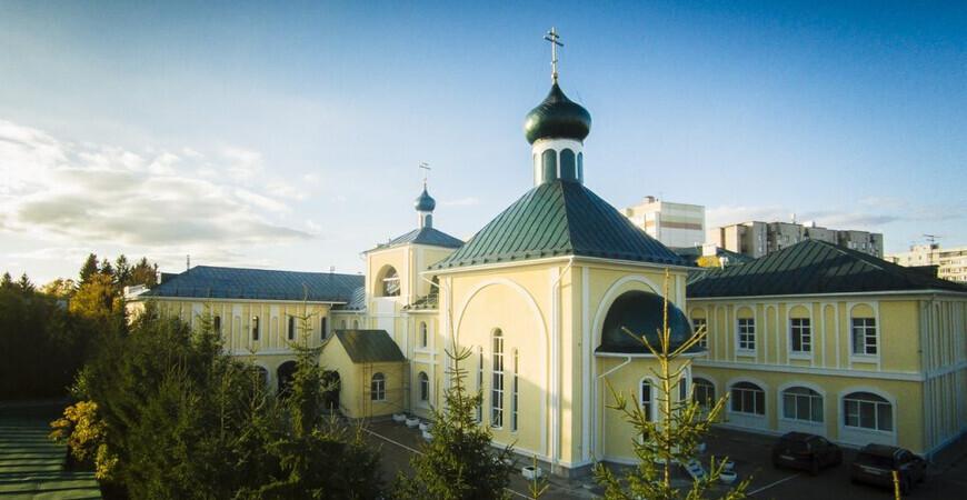 Храм Иоанна Кронштадтского в Казани