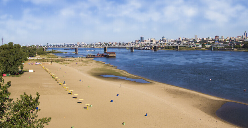 Пляж «Наутилус» вНовосибирске
