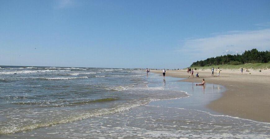 Пляж в Паланге