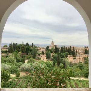 Гранада, Алькасар и сады Хенералифе
