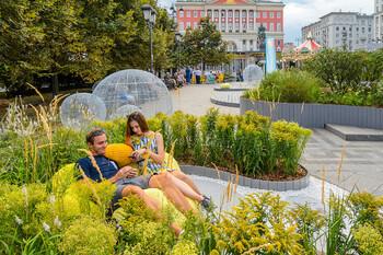 В Москве стартовал фестиваль Цветочный джем