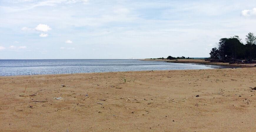 Пляж Большая Ижора