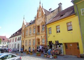 Сигишоара — осколок средневековья в Трансильвании