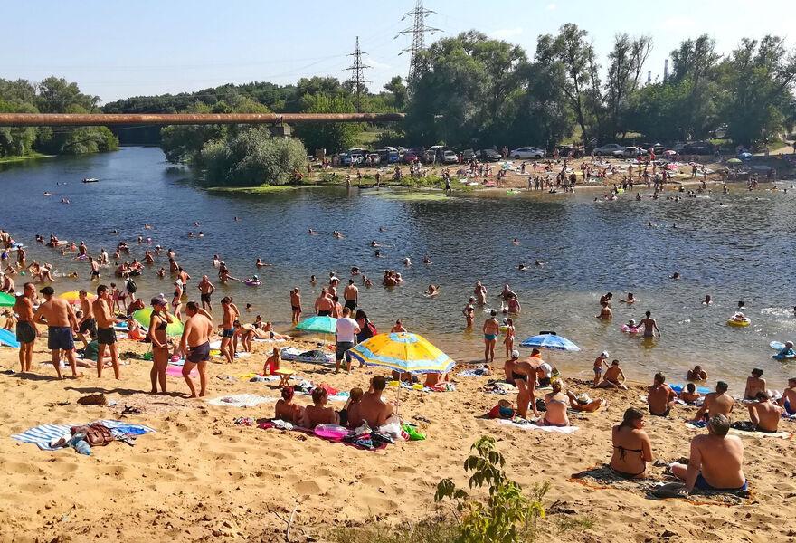 Суворовский пляж в Курске