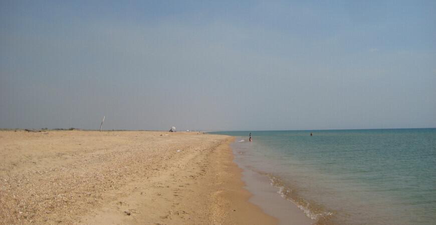 Нудистский пляж в Витязево