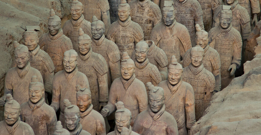 Терракотовая армия императора Цинь Шихуанди (Terracotta Army)