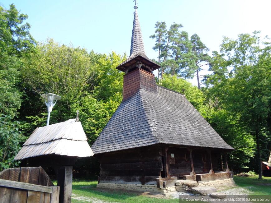 Православный храм из Буковины