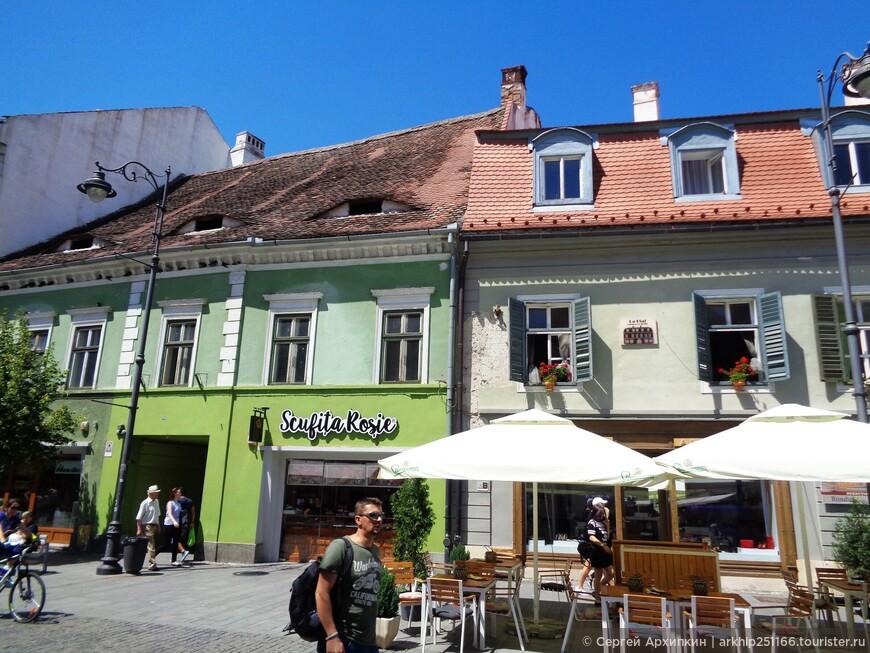 В Сибиу проживает 140 тысяч жителей и город считается столицей Трансильвании