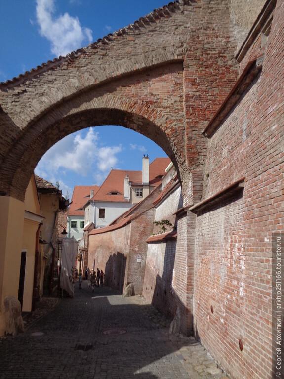 Улочки Сибиу у Кафедрального собора