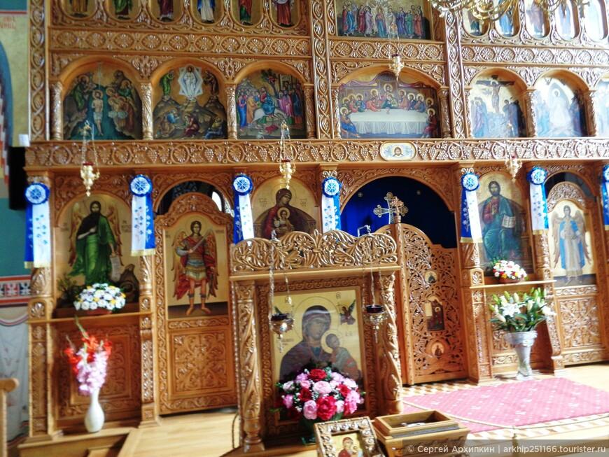 Иконостас собора в Сибиу