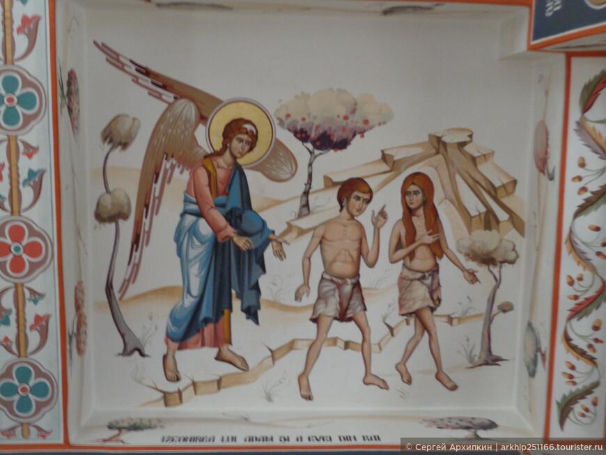 Фрески собора в Сибиу