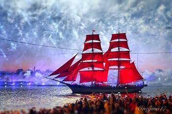 Туристы смогут попасть на борт брига «Россия» - символа праздника «Алые паруса»