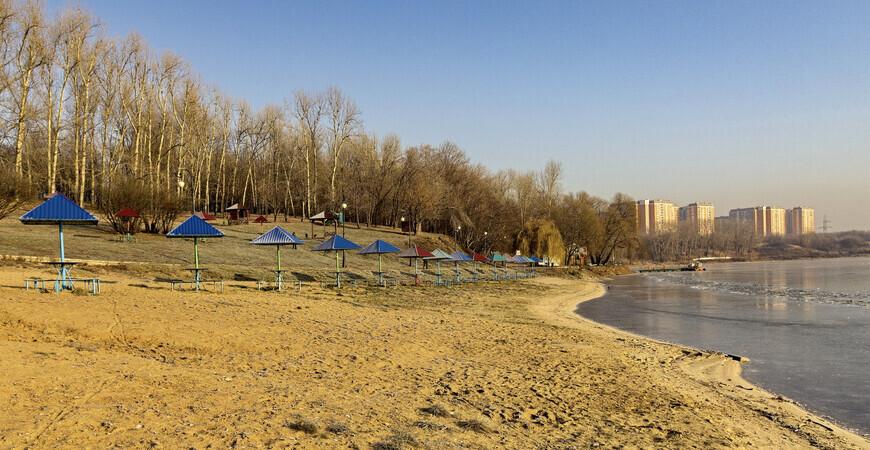 Пляж «Борисовские пруды»
