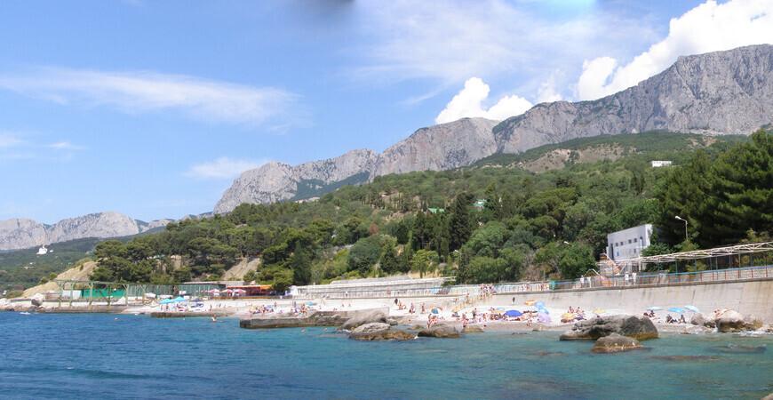 Пляж в Парковом