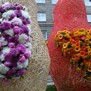 Фестиваль цветов. Новосибирск
