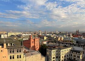 Москва. Крыши