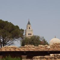Вид на мечеть с виллы.