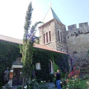 Цитадель Белграда и ее церкви и парки